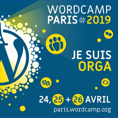 Bannière WordCamp Organisateur
